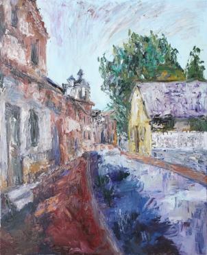 Olmedo, óleo sobre lienzo, 81 x 100