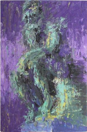 Pensador, óleo sobre tabla, 81 x 120