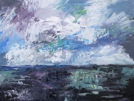 Skye 1, óleo sobre tabla, 81 x 61