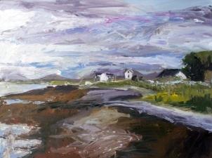 Skye 5, óleo sobre tabla, 81 x 61