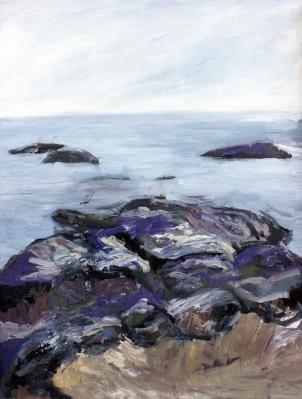 Skye 4, óleo sobre tabla, 61 x 81