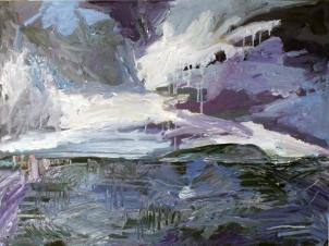 Skye 3, óleo sobre tabla, 81 x 61