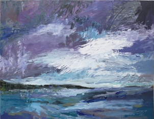 Skye 9, óleo sobre tabla, 81 x 61, 2014