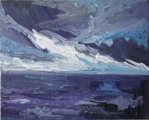 Skye 11, óleo sobre lienzo, 25 x 20, 2014