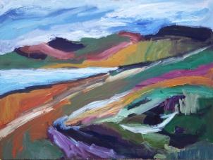 Skye 14, óleo sobre tabla, 81 x 61