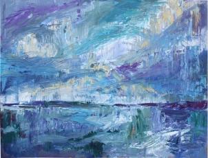 Skye 18, óleo sobre tabla, 81 x 61