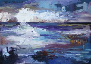 Skye 11, óleo sobre tabla, 81 x 61