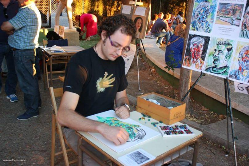 Retratos en la Feria de la Vendimia de Serrada, 2013