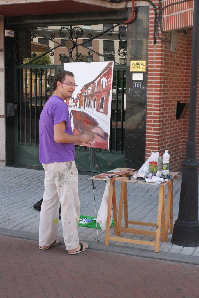 Concurso Pintura Rápida Laguna de Duero 2011