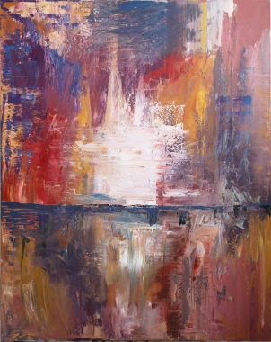 Sin título, óleo sobre lienzo, 60 x 80