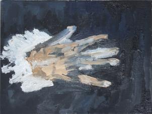 1578 - 80 El Greco - El caballero de la mano en el pecho (detalle)