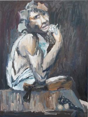 1593 Caravaggio - Baco enfermo