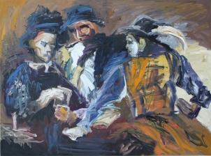 1594 Caravaggio - Los jugadores de cartas