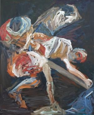 1600 Caravaggio - Crucifixión de San Pedro
