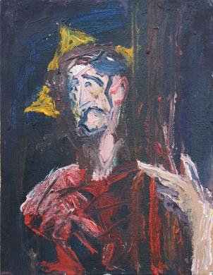 1602 El Greco - Cristo abrazando la Cruz