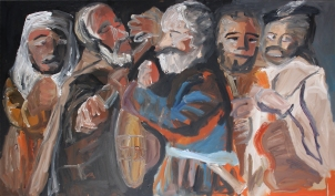 1625 - 30 Georges La Tour - Riña de músicos