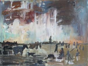 1643 Jan Van Goyen - Paisaje de hielo