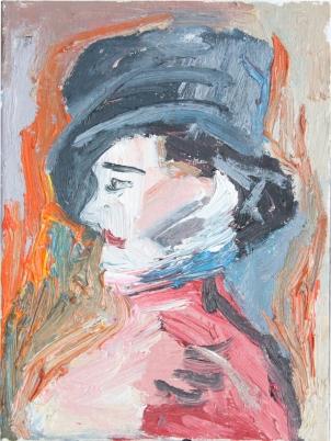 1880 Édouard Manet - Retrato de Irma Brunner