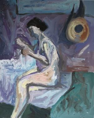 1880 Paul Gauguin - Suzanne cosiendo