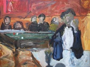 1888 Paul Gauguin - Café de noche en Arlés