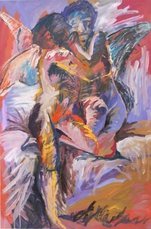 1890 Bouguereau - El primer beso