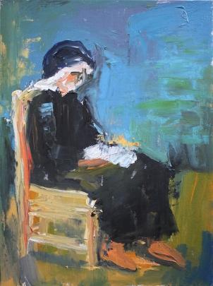 1953 Antonio López - Josefina leyendo