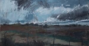 óleo sobre lienzo, 60 x 30, 2017