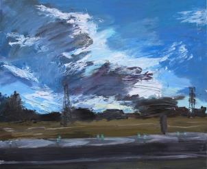 Óleo sobre tabla, 100 x 81, 2017