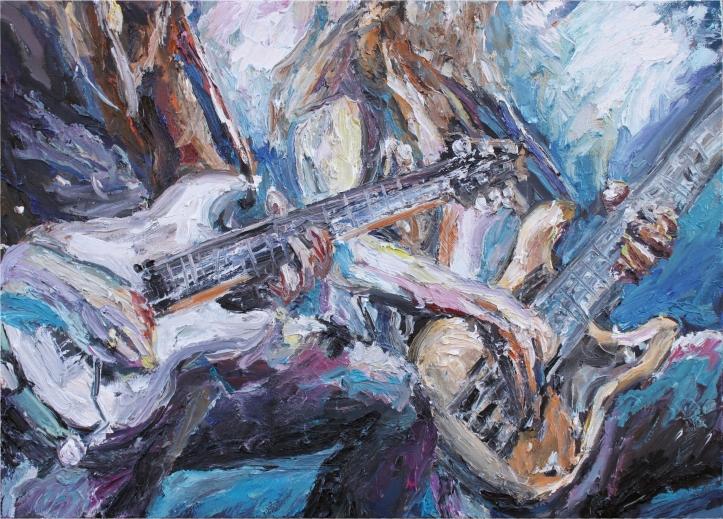 Óleo sobre lienzo, 70 x 50